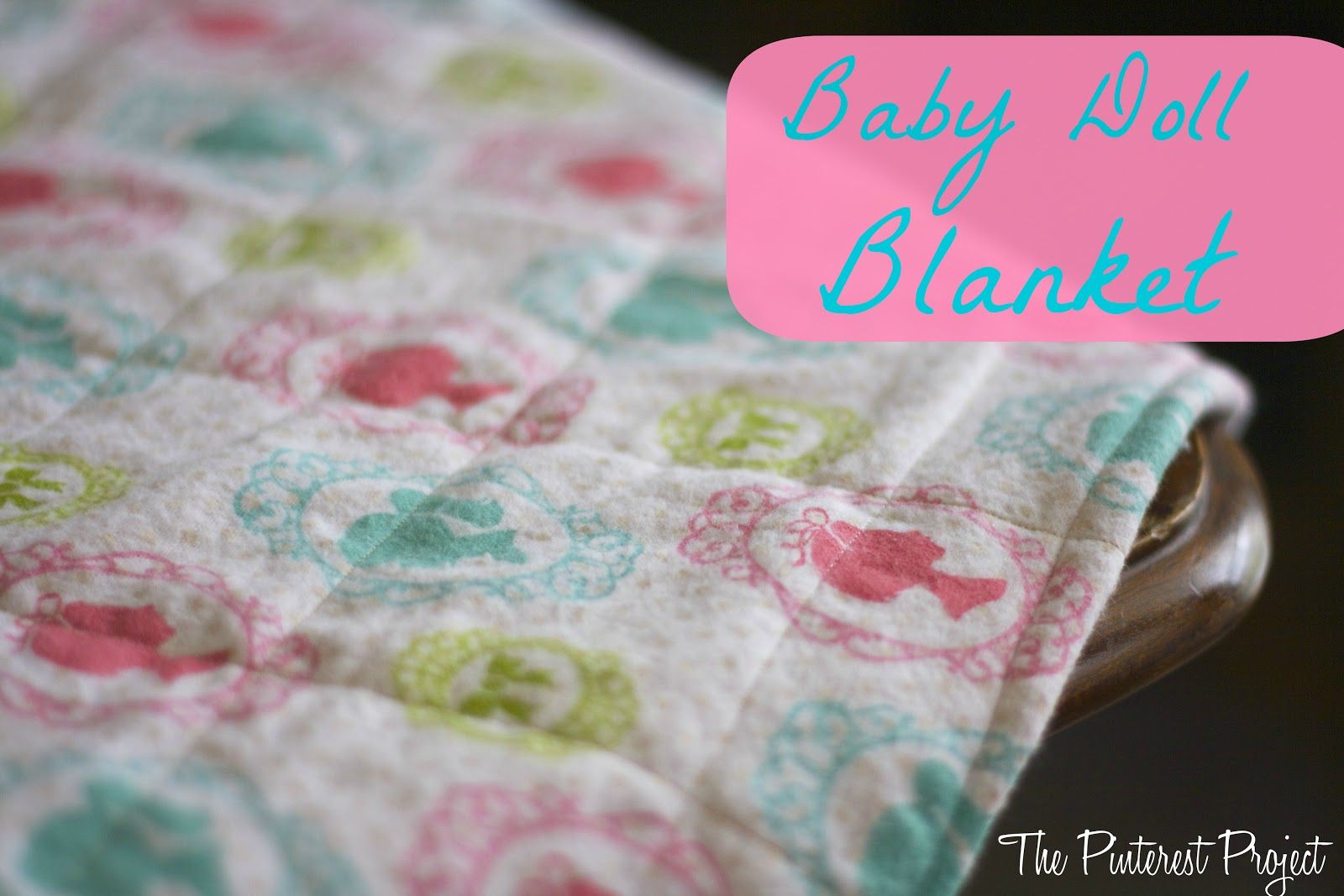 An Easy Baby Or Doll Blanket The Pinterest Project
