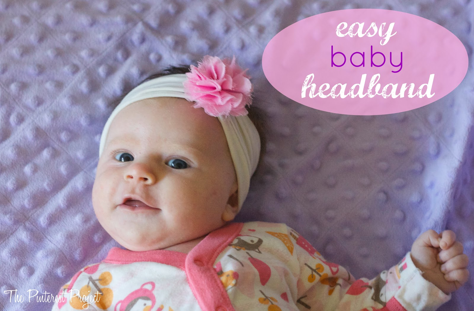 A Fancy Headband For A Fancy Baby The Pinterest Project