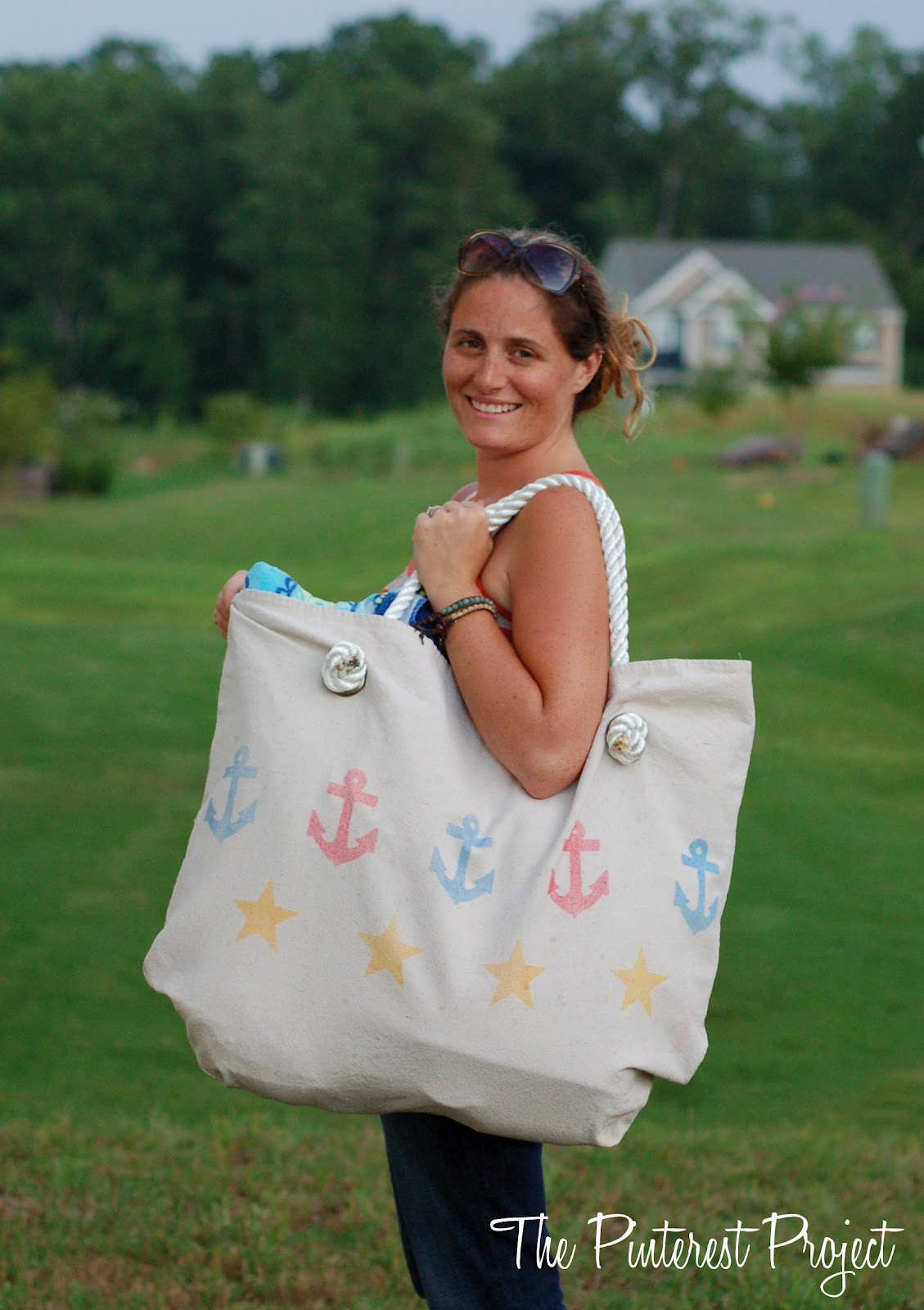 A Beach Bag for STUFF!! | The Pinterest Project