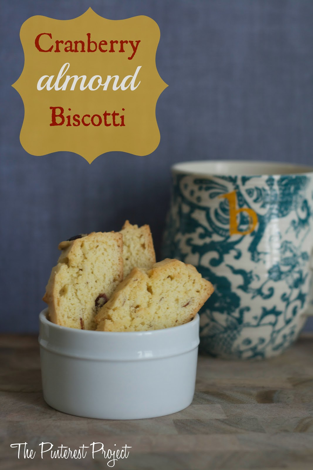 Chaotic Cranberry Almond Biscotti | The Pinterest Project