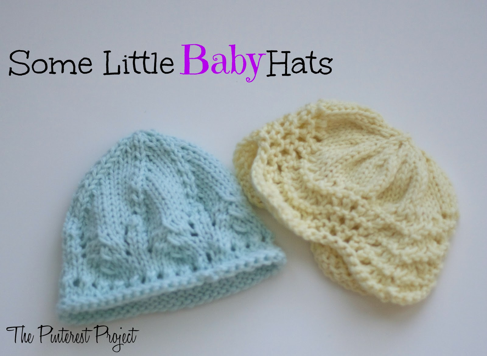 Knit Baby Hat Pattern Pinterest : Knitted baby hat patterns pinterest crafts