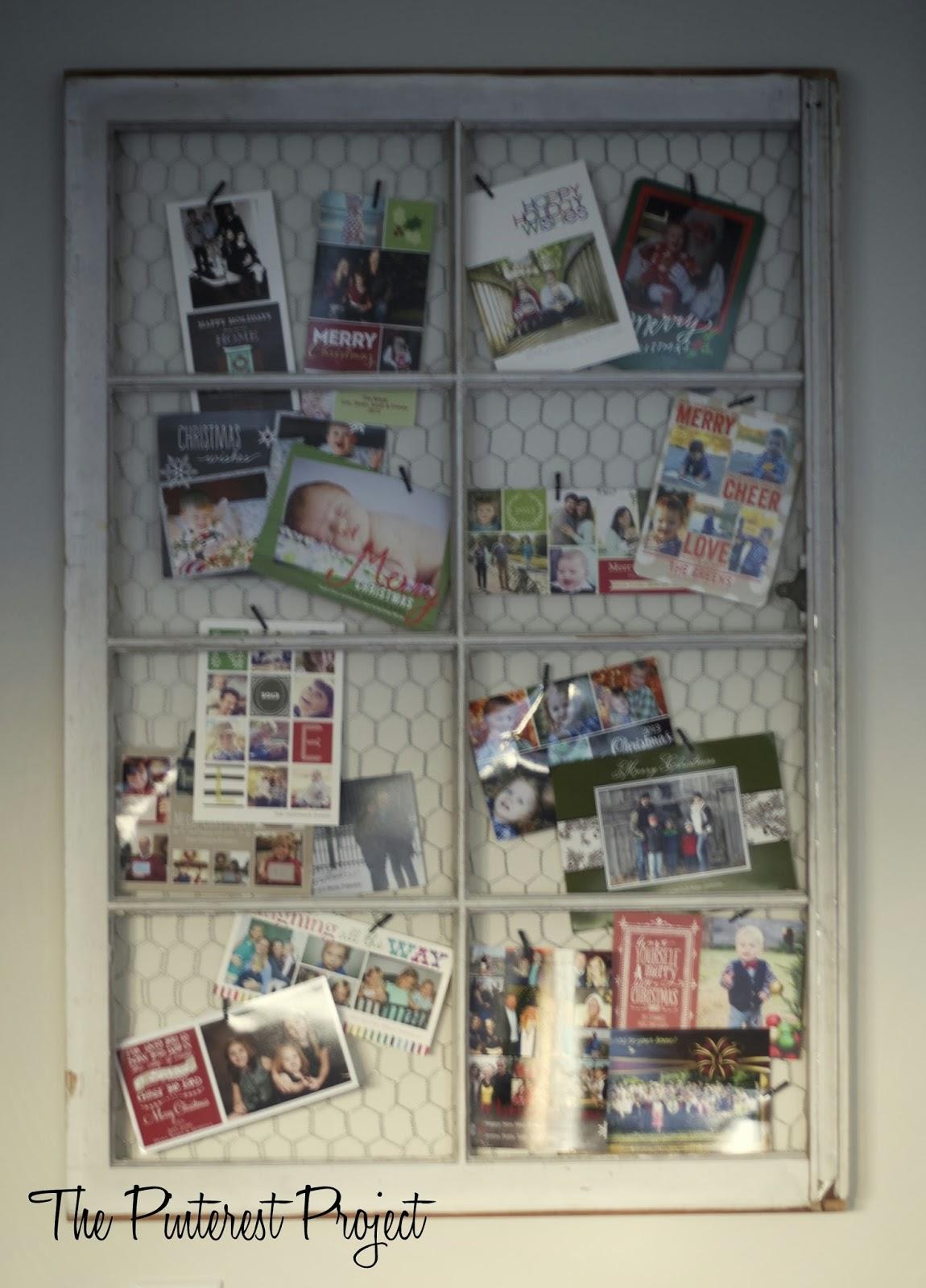 A little Chicken Wire Window | The Pinterest Project
