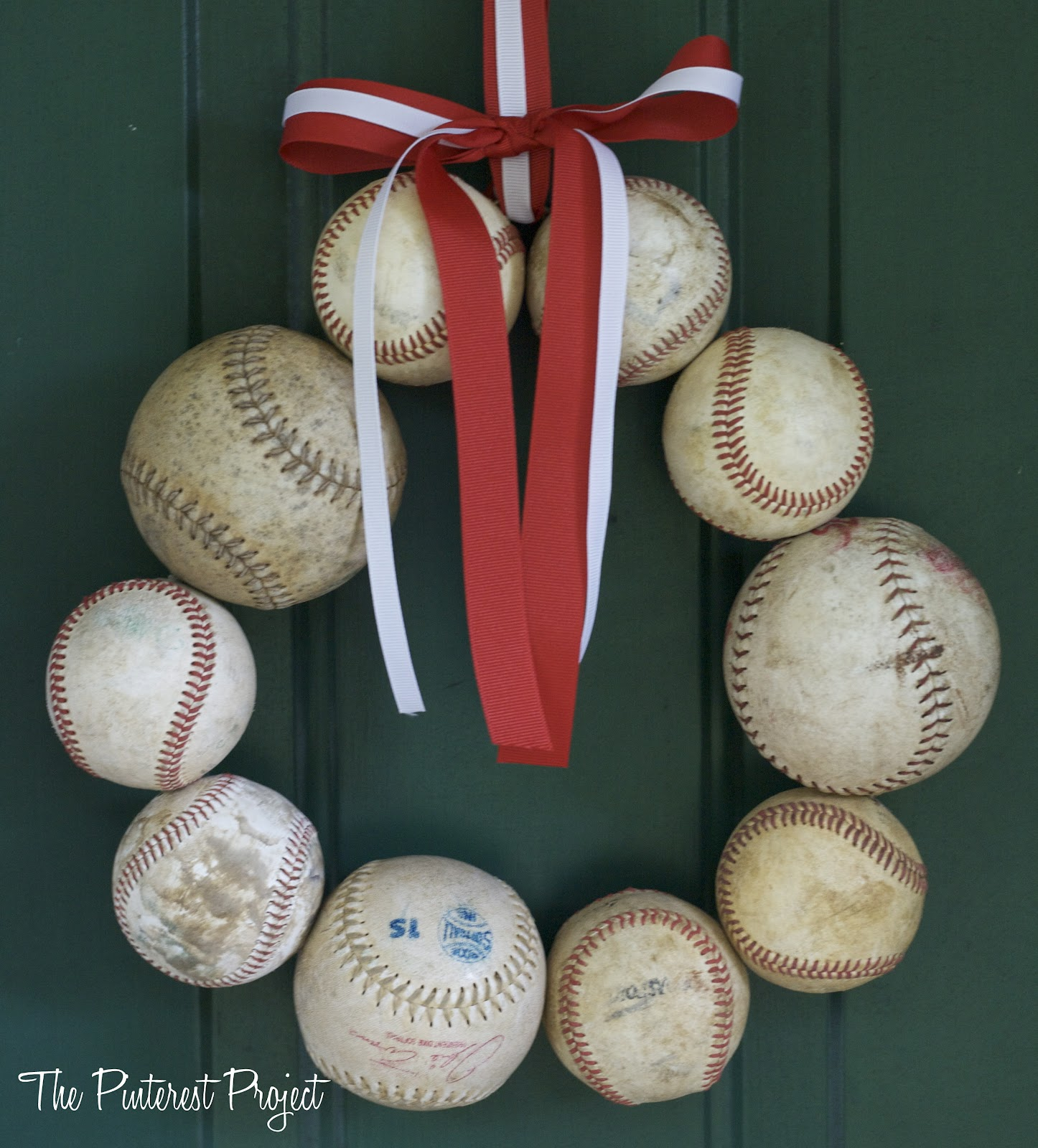 diy baseball wreath the pinterest project