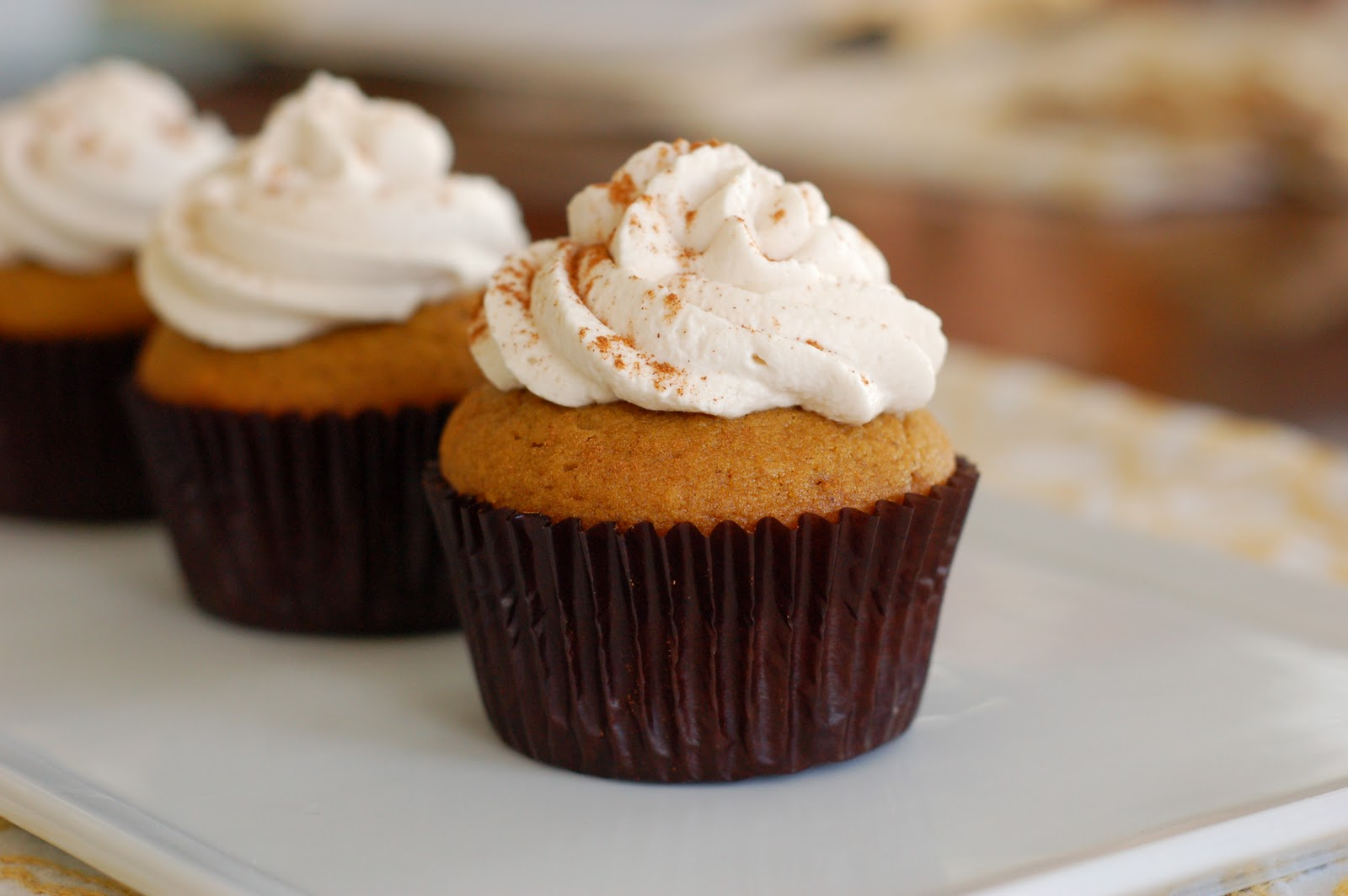 From the Archives: Pumpkin Spice Latte Cupcakes | The Pinterest ...