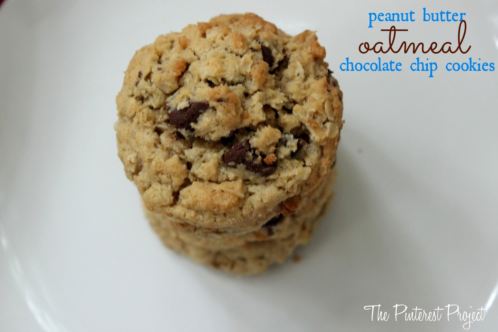Peanut Butter Oatmeal Chocolate Chip Cookies | The ...