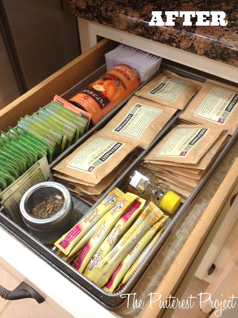 How To Organize A Tea Drawer