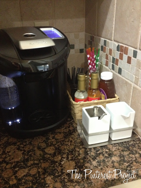 Tea Amp Coffee Station The Pinterest Project