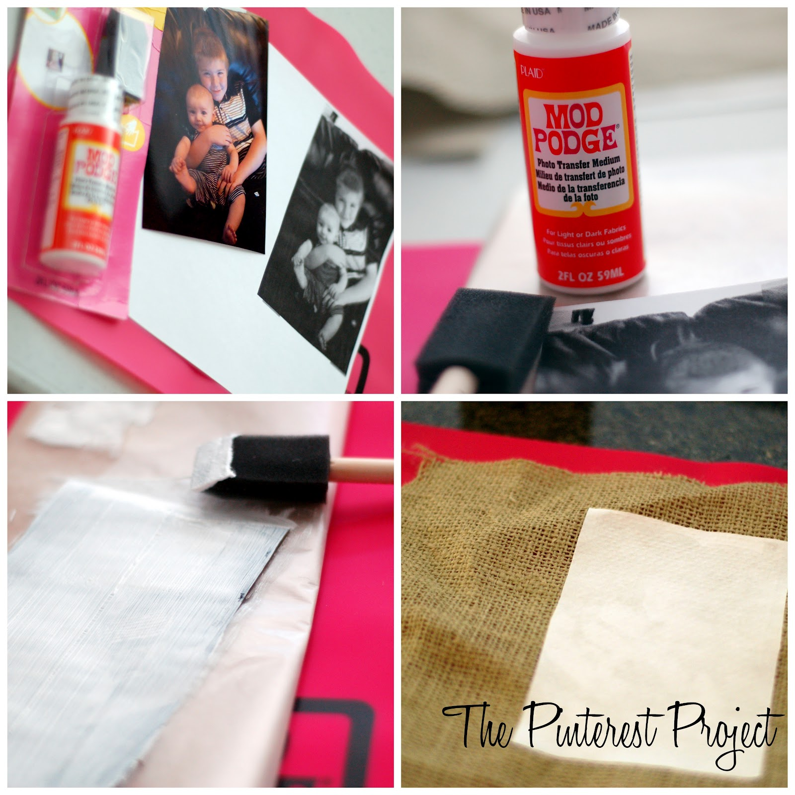 You Want It To Be Thick Enough That Can T See The Picture Through Mod Podge Then Place Podged Side Down On Top Of Your Fabric