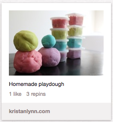 Toddler Distractions Play Dough The Pinterest Project