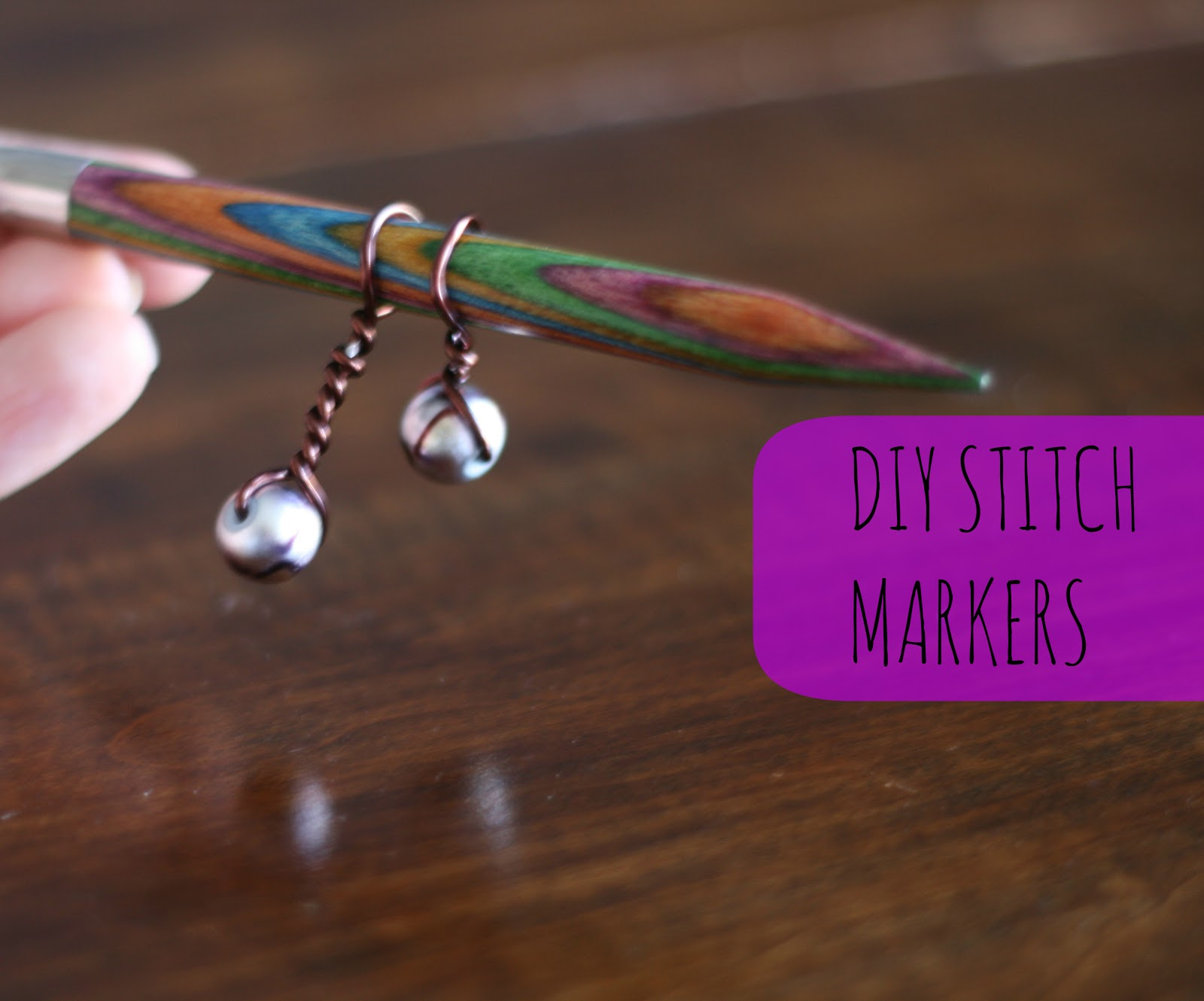Knitting Markers Homemade : Making some stitch markers the pinterest project