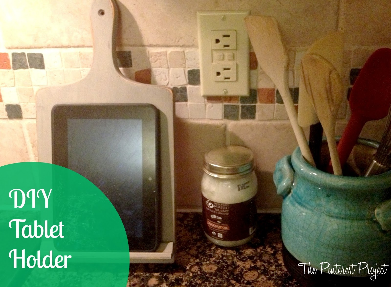 DIY Tablet Holder | The Pinterest Project