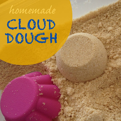 Homemade Cloud Dough