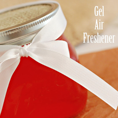 A DIY Gel Air Freshener