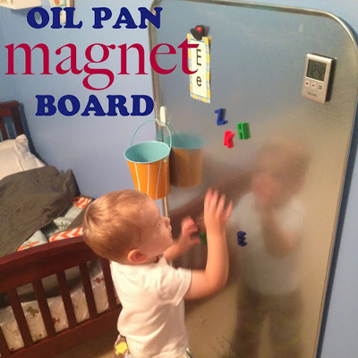 Oil Pan Magnet Board
