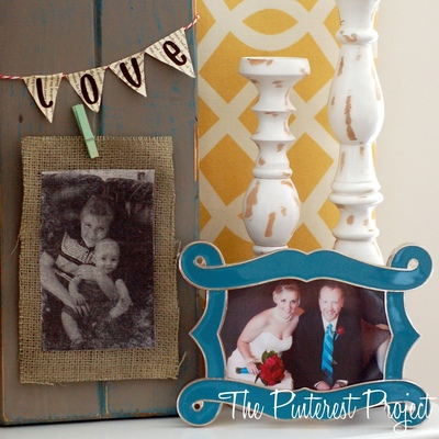 Photo Transfer onto Fabric with...MOD PODGE!