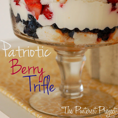 Holiday Replay: Patriotic Berry Trifle